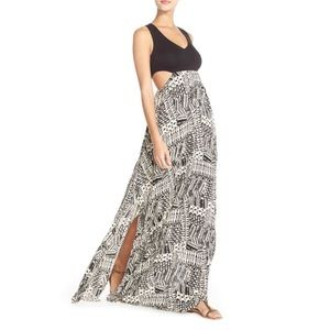'Ivory Coast' Cover-Up Maxi Dress L SPACE